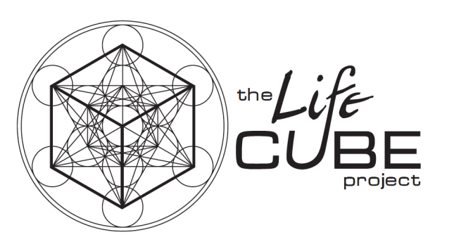 Logo for The Life Cube Project